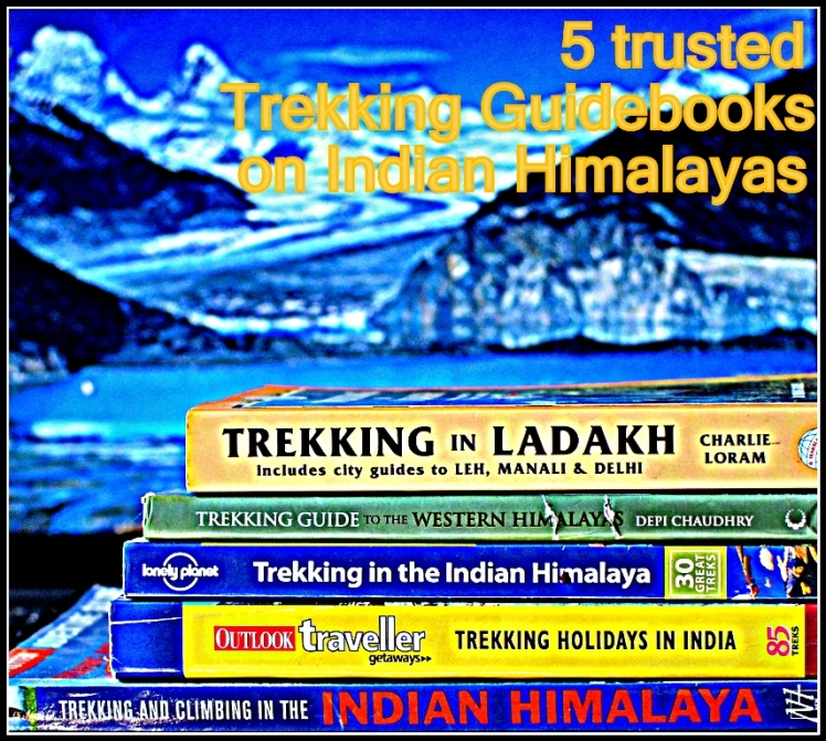 5 trusted guide books on Indian Himalayas www.wanderthehimalayas.in