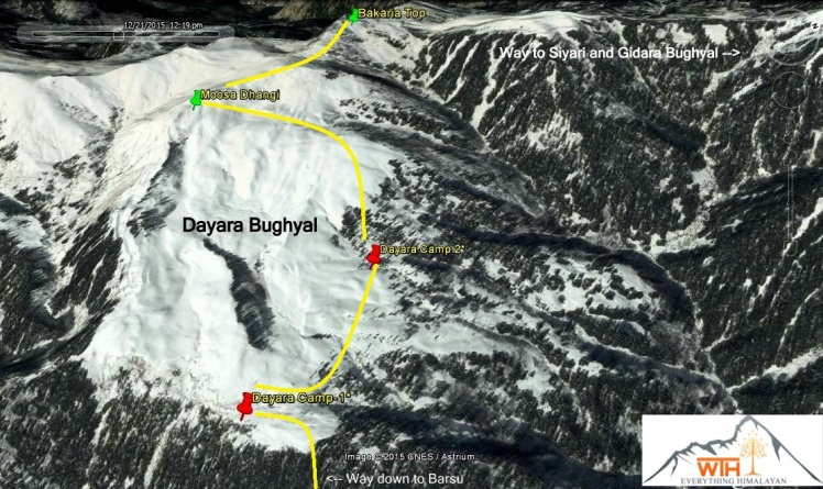 Dayara Bughyal map