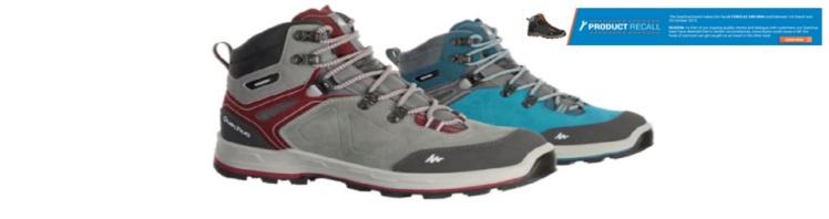 quechua 500 high shoe