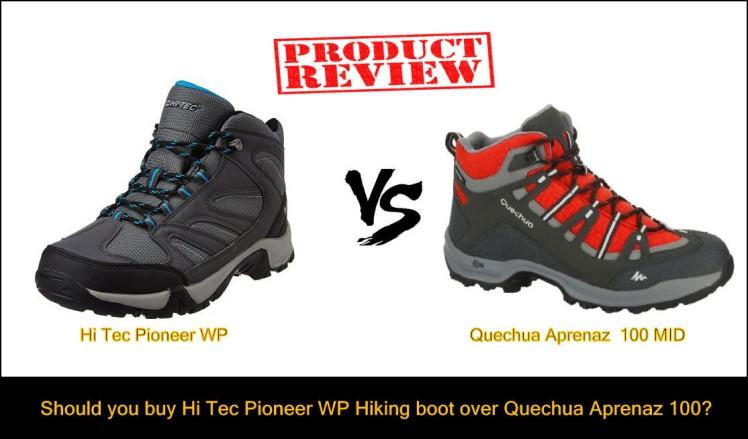 Quechua Aprenaz 100 mid hiking boot